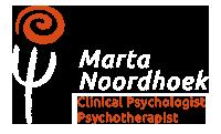 Marta Noordhoek - Clinical psychologist, Psychoterapist